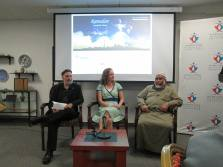 Our Panelists from left- Dr. Brad Bass, Reverend Alexa Gilmour and Imam Patel